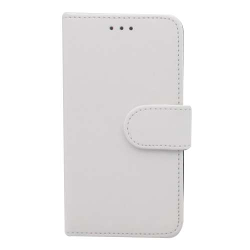 B2Ctelecom Bookstyle Hoesje Samsung Galaxy Core i8260 Mat Wit
