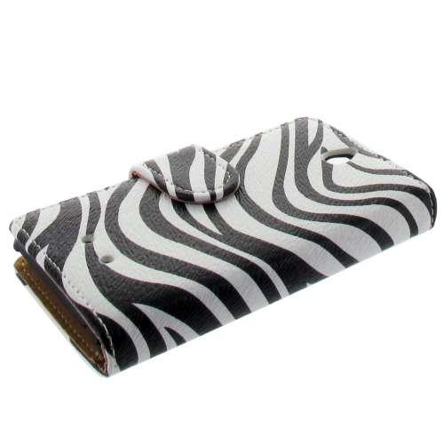 Bookstyle Hoesje Sony Xperia E Zebra