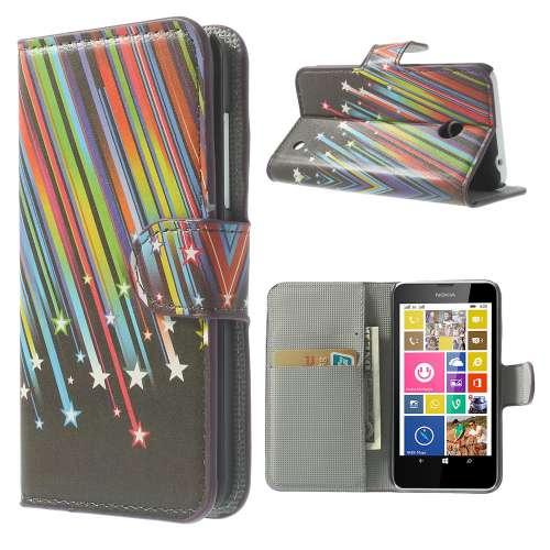 Bookstyle Stand Case Nokia Lumia 630 Meteoor