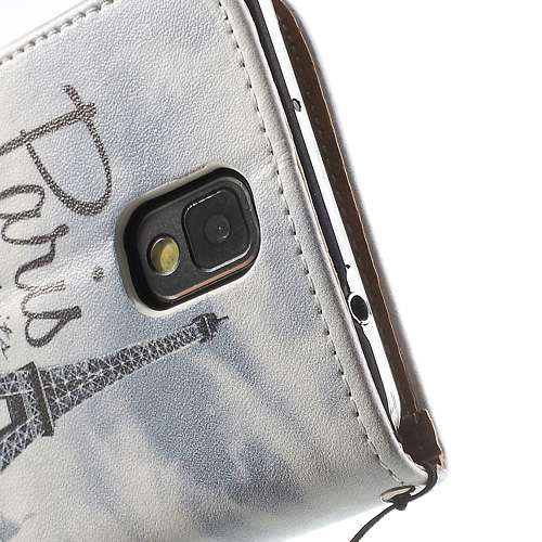 Bookstyle Stand Case Samsung Galaxy Note 3 Paris