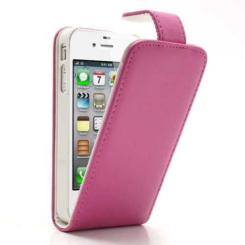 Flip Hoesje Apple iPhone 4 of 4S Roze