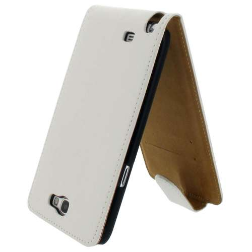 B2Ctelecom Flip Hoesje Galaxy Note 2 N7100 Wit