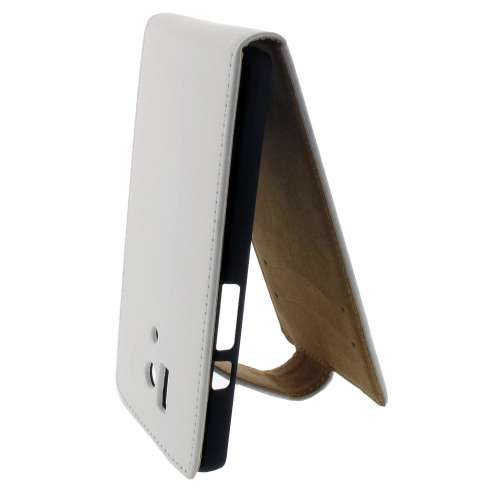 Flip Hoesje Huawei Honor 3 Matt White