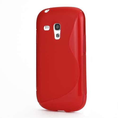 Galaxy S3 Mini TPU Hoesjes Rood