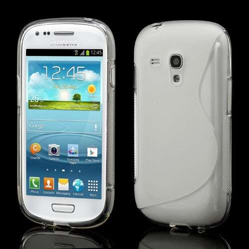 Galaxy S3 Mini TPU Hoesjes Transparant
