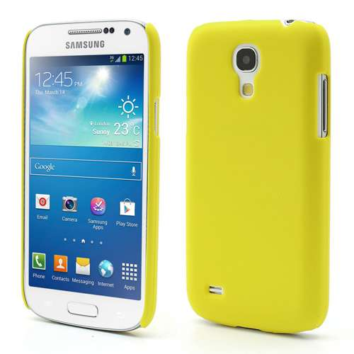 Hard Case Samsung Galaxy S4 Mini i9190 Geel