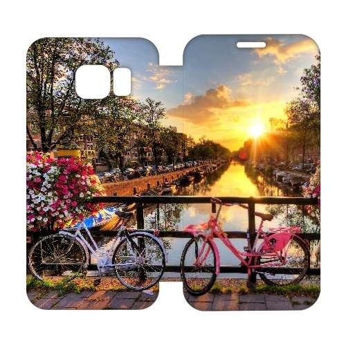 Hip Design Hoes Amsterdamse Grachten Samsung Galaxy S6 Edge