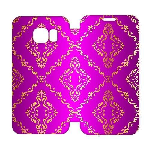 Hip Design Hoesje Barok Roze Samsung Galaxy S6 Edge