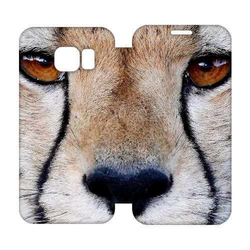 Hip Design Hoesje Cheetah Samsung Galaxy S6 Edge