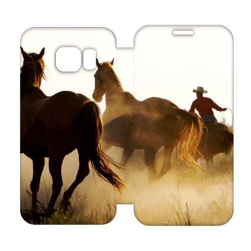 Hip Design Hoesje Cowboy Samsung Galaxy S6 Edge