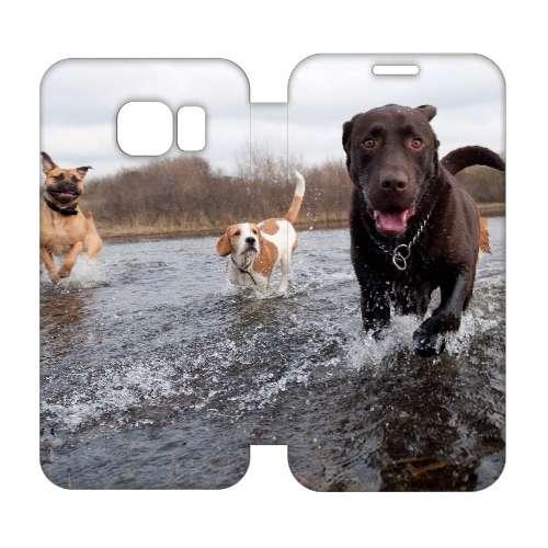 Hip Design Hoesje Honden Samsung Galaxy S6 Edge