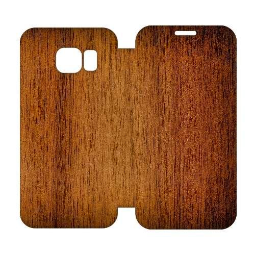 Hip Design Hoesje Hout Samsung Galaxy S6 Edge