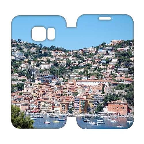 Hip Design Hoesje Huizen Samsung Galaxy S6 Edge
