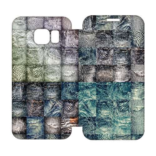 Hip Design Hoesje Jeans Samsung Galaxy S6 Edge