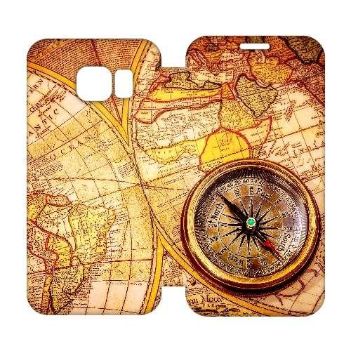 Hip Design Hoesje Kompas Samsung Galaxy S6 Edge