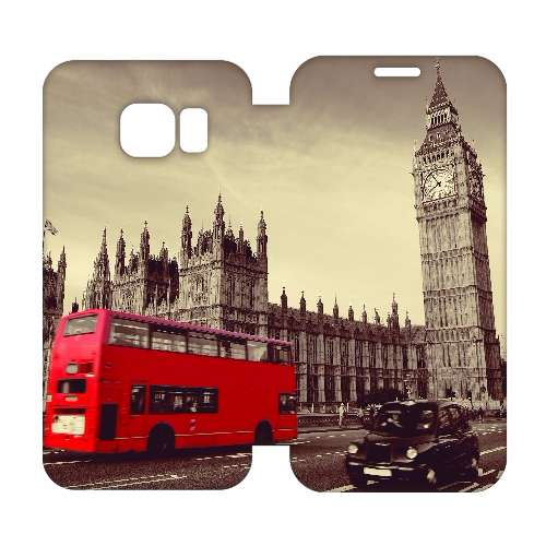 Hip Design Hoesje Londen Samsung Galaxy S6 Edge