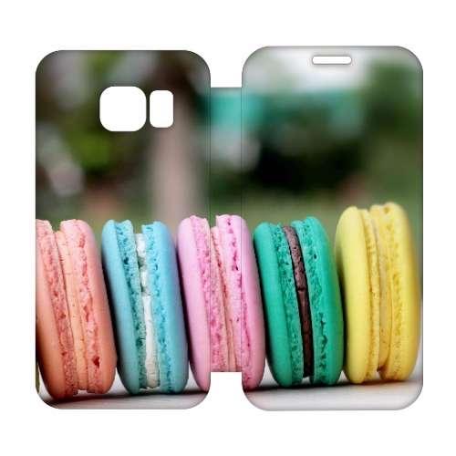 Hip Design Hoesje Macarons Samsung Galaxy S6 Edge