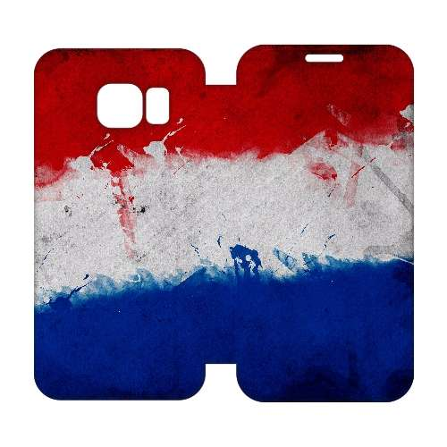 Hip Design Hoesje Nederlandse Vlag Samsung Galaxy S6 Edge