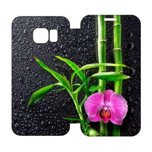 Hip Design Hoesje Orchidee Samsung Galaxy S6 Edge