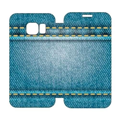Hip Design Hoesje Spijkerbroek Samsung Galaxy S6 Edge