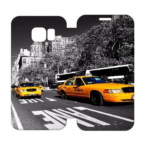 Hip Design Hoesje Taxi Samsung Galaxy S6 Edge