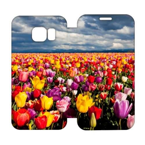 Hip Design Hoesje Tulpen Samsung Galaxy S6 Edge