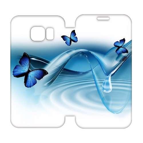 Hip Design Hoesje Vlinders Samsung Galaxy S6 Edge