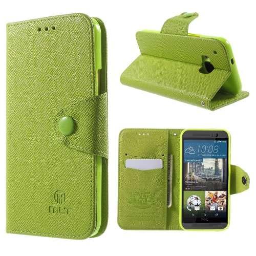 HTC One M9 Hoesje Groen met Opbergvakjes