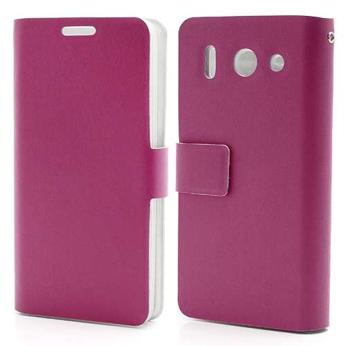 Huawei Ascend G510 Doormoon Bookstyle Case Roze