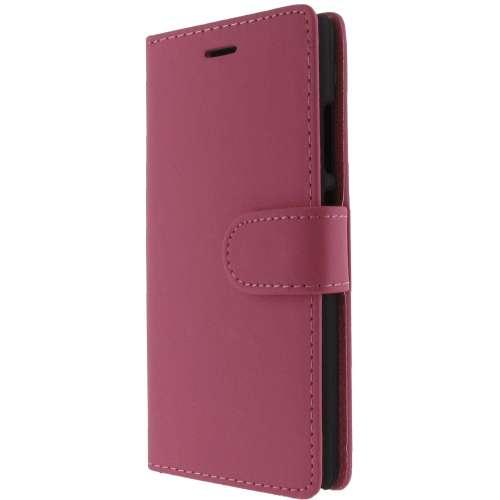 Huawei Ascend P8 Lite Hoesje Roze met Opbergvakjes