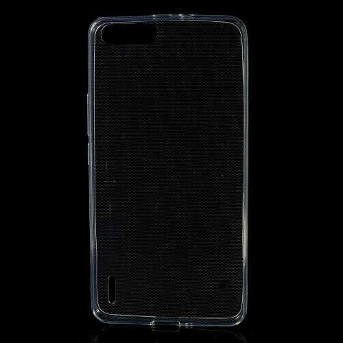 Huawei Honor 6 Plus Hoesje Transparant (rubber)