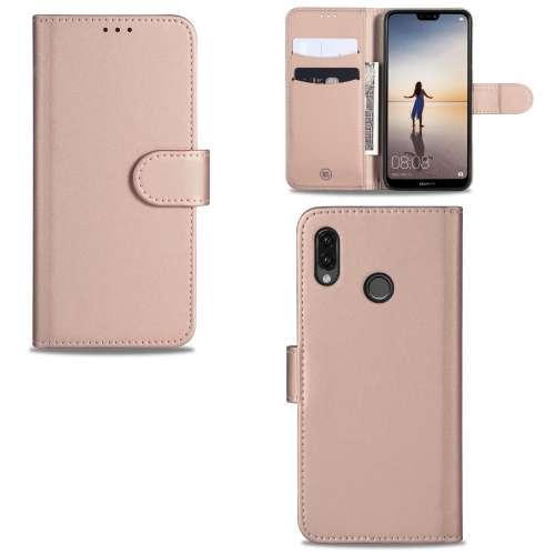 Huawei P20 Lite Telefoonhoesje Rose met Pasjeshouder