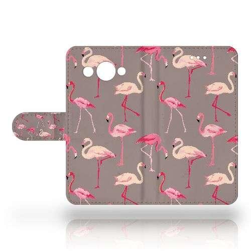 Huawei Y3 2017 Uniek Telefoonhoesje Flamingo's
