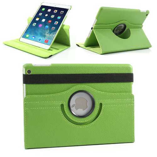 iPad Air Draaibaar Stand Case Groen