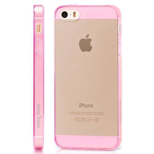 iPhone 5 of 5S Ultra Slim Baseus TPU Case Roze