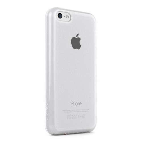 iPhone 5C Belkin Flexibel Hoesje Mat Wit, Glans