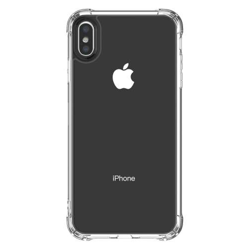 iPhone Xs TPU Siliconen Hoesje Anti-shock Transparant
