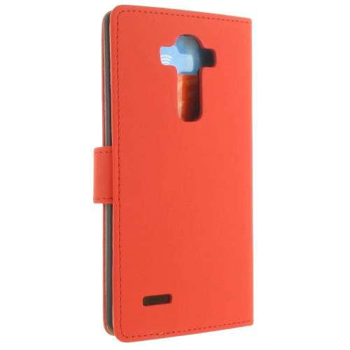 LG G4 Hoesje Rood met Opbergvakjes (H815)