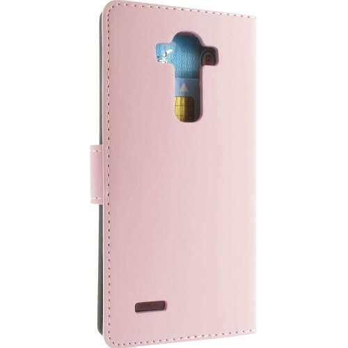 LG G4 Hoesje Roze met Opbergvakjes (H815)