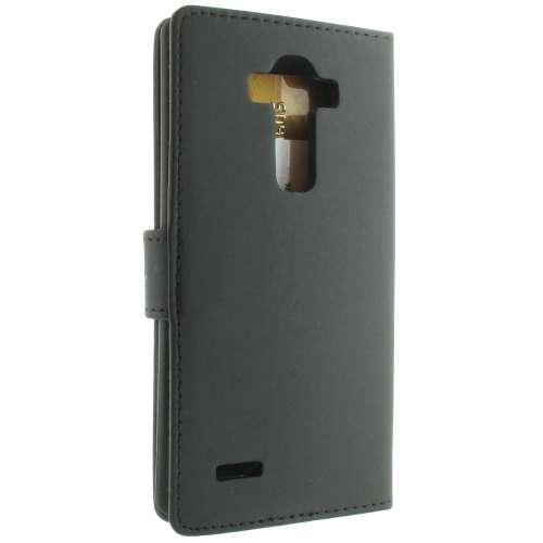 LG G4 Hoesje Zwart met Opbergvakjes (H815)