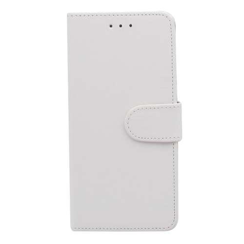 LG G7 Thinq Telefoonhoesje Wit met Pasjeshouder