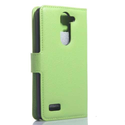 LG L Bello Wallet Stand Case Hoesje Groen B2Ctelecom nieuw