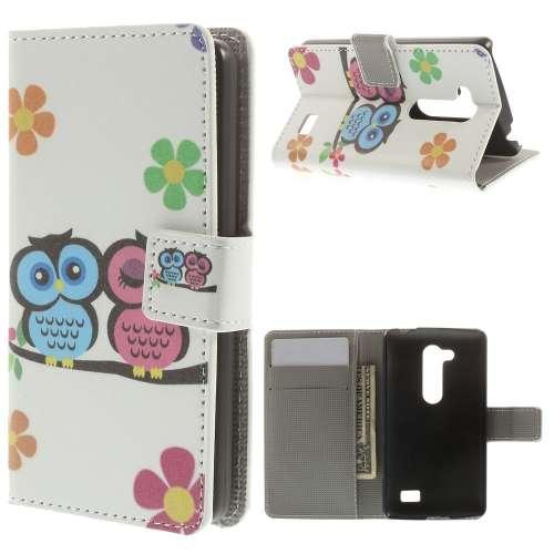 LG L Fino Wallet Case Koppel Uil B2Ctelecom Beste koop