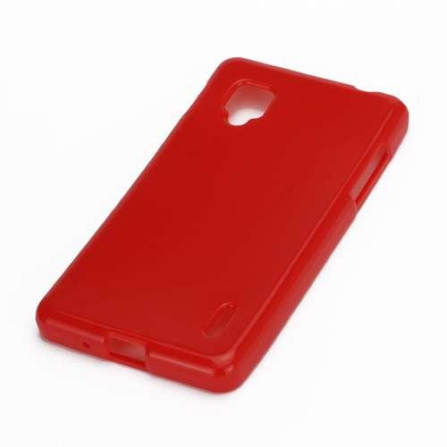 LG Optimus G TPU Case Candy Glossy Rood B2Ctelecom te koop