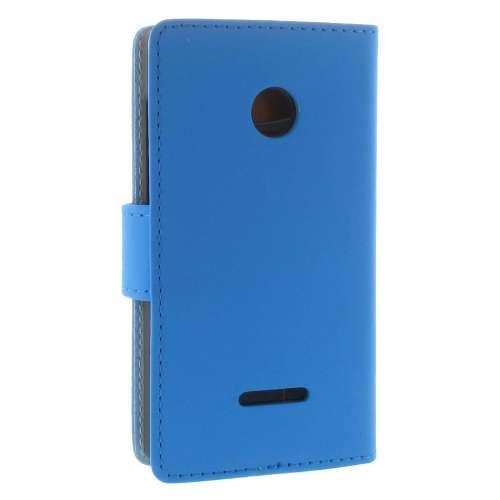 Microsoft Lumia 435 Boekhoesje Blauw met Opbergvakjes