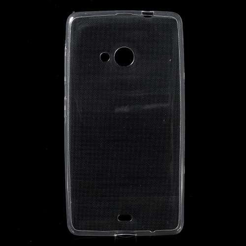 Microsoft Lumia 535 Transparant Telefoonhoesje Ultra Smal