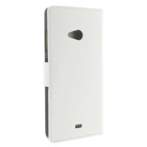 Microsoft Lumia 540 Boekhoesje Wit