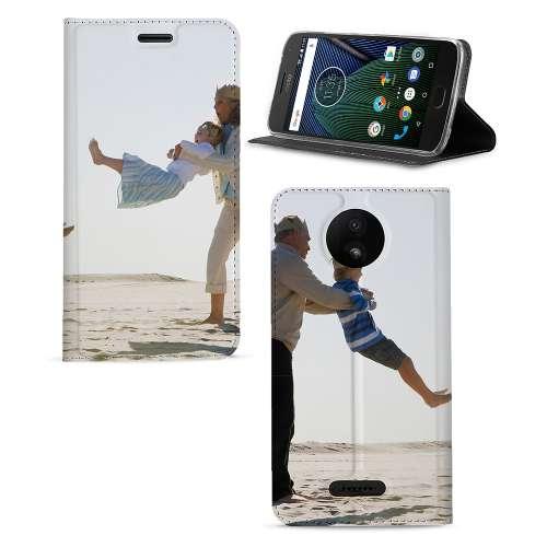 Motorola Moto C Plus Telefoonhoesje Maken met Foto's