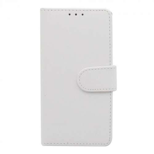 Motorola Moto C Plus Telefoonhoesje Wit met Opbergvakjes