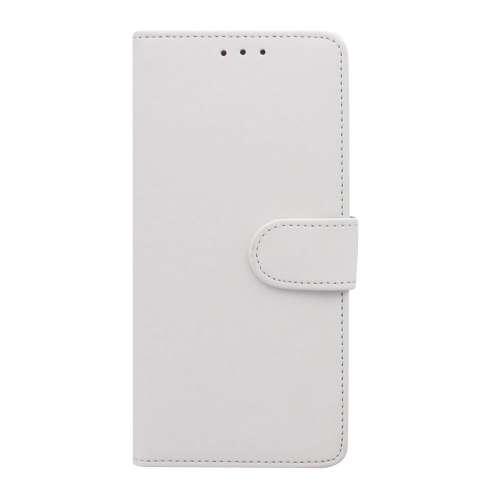 Motorola Moto E5 Play Telefoonhoesje Wit met Pasjeshouder